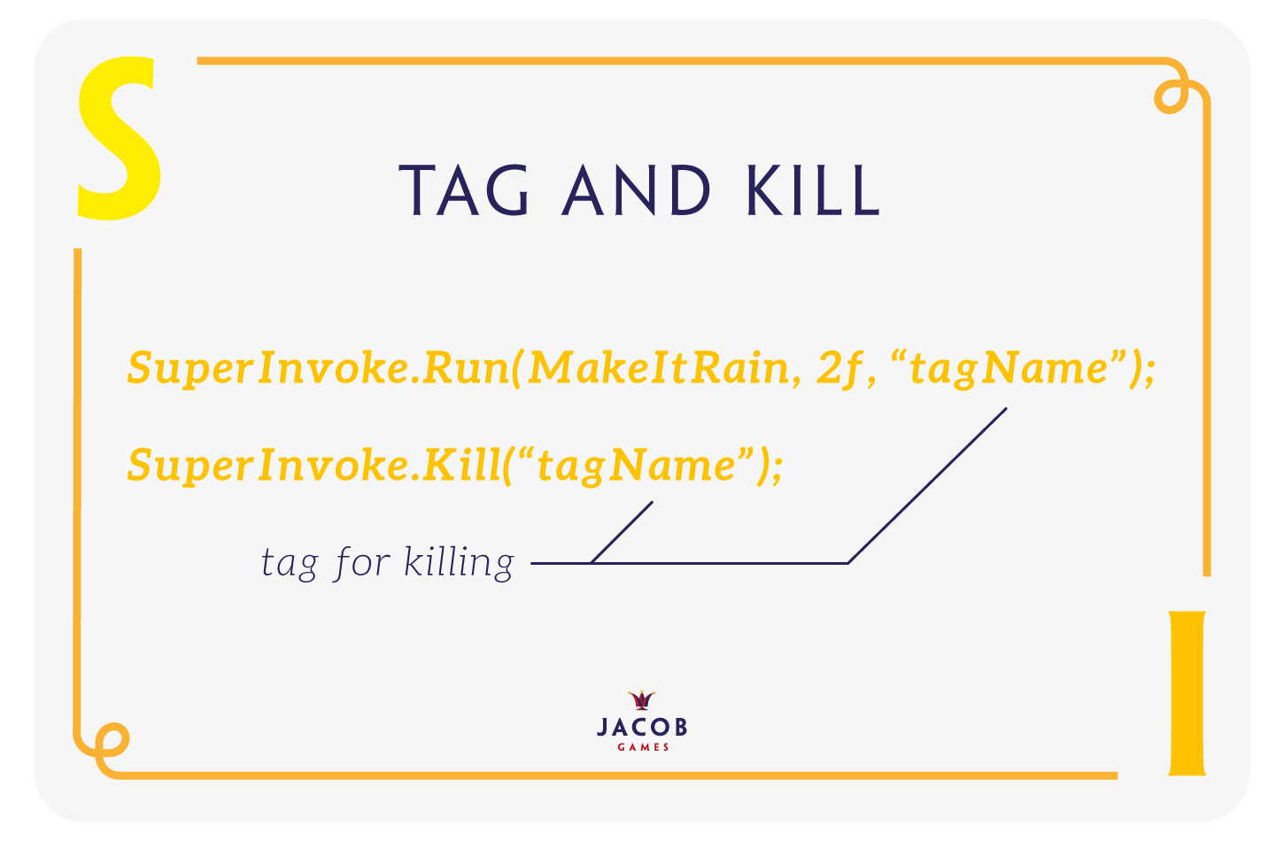 JacobGames - Jacob Games SuperInvoke Tag & Kill